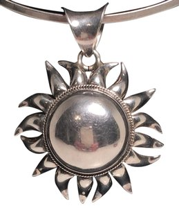 Other Silver Sun Pendant