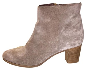 J.Crew Distressed Suede Casual Taupe Boots