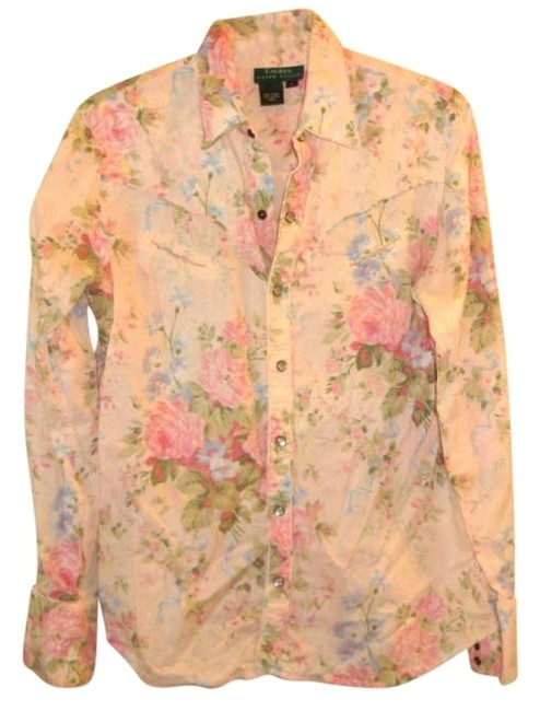 Preload https://img-static.tradesy.com/item/203277/lauren-ralph-lauren-pink-multi-rose-print-cowgirl-shirt-button-down-top-size-12-l-0-0-650-650.jpg
