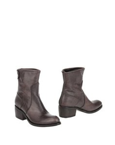 EMANUELA PASSERI Comfortable Leather Button brown Boots