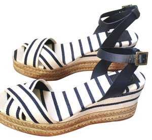 Tory Burch Blue and white Athletic