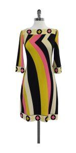 Ali Ro short dress Multi Colored Stripe Boatneck on Tradesy