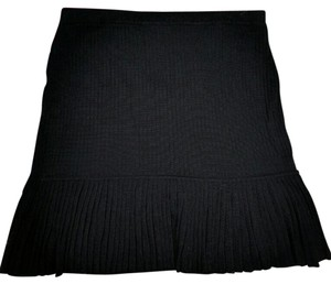 Calvin Klein Pleated Career Casual Skirt Black