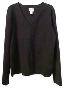Chico's Silk Blend V-neck Sweater