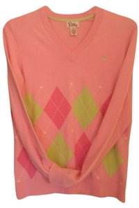 Lilly Pulitzer Pastel Argyle Sweater