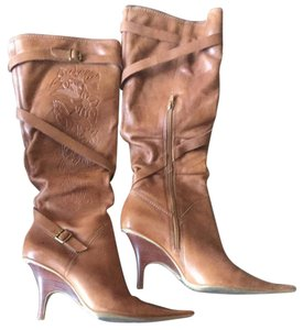 Bronx Camel Brown Boots
