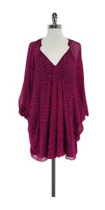 Diane von Furstenberg short dress Fleurette Chiffon Kaftan on Tradesy