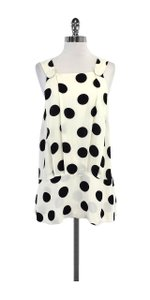 See by Chlo Cream Black Polka Dot Top