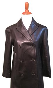 Céline Dark brown Leather Jacket