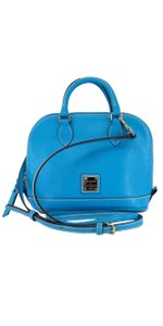 Dooney & Bourke Turquoise Leather Shoulder Bag