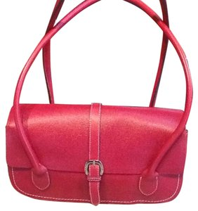 Ann Taylor Satchel in Red