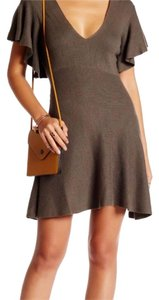 Free People short dress Grey olive on Tradesy