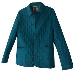 Burberry Teal Jacket