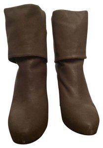 Joie Leather Gray Boots