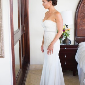 Nicole Miller Nicole Miller Daria Couture Bridal Gown Wedding Dress