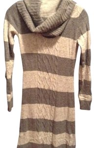Grey Maxi Dress by Esprit Sweater Stripes Cozy