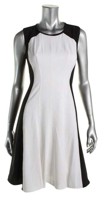 Preload https://img-static.tradesy.com/item/20329893/tahari-black-white-new-womens-bw-sleeveless-mini-colorblock-wear-to-knee-length-workoffice-dress-siz-0-1-650-650.jpg