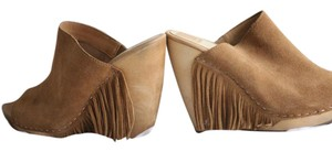 Dolce Vita Doce Boho Suede Camel Mules