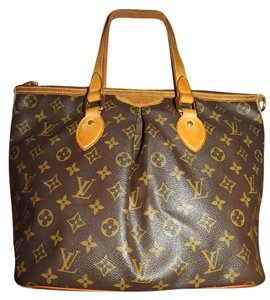 Louis Vuitton Lv Monogram Palermo Pm Canvas Tote in brown