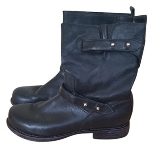 Rag & Bone Motorcycle Studded black Boots