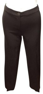 Armani Collezioni Straight Pants brown