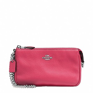 Coach Wristlet in Strawberry