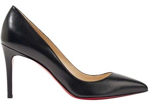 Christian Louboutin Louboutin Pigalle 85mm Nappa Black Pumps