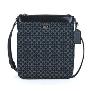 Coach Needlepoint Madison Op Art Cross Body Bag