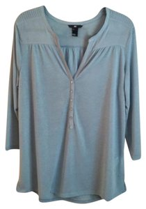 H&M Top Soft Blue