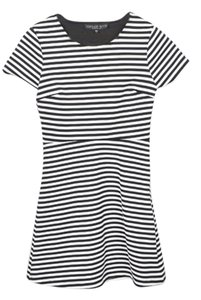Topshop Striped Sailor Striped Small Dress