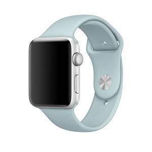 Apple Apple watch 38mm 7000 series aluminum - Turquoise Sport Band Custom
