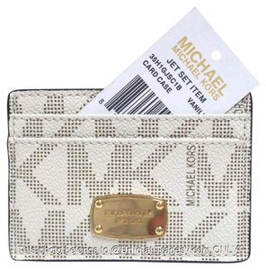 Michael Kors NWT Michael Kors Signature Monogram Card Case Wallet