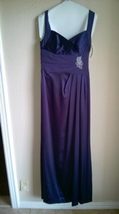David's Bridal Purple F15034 Dress