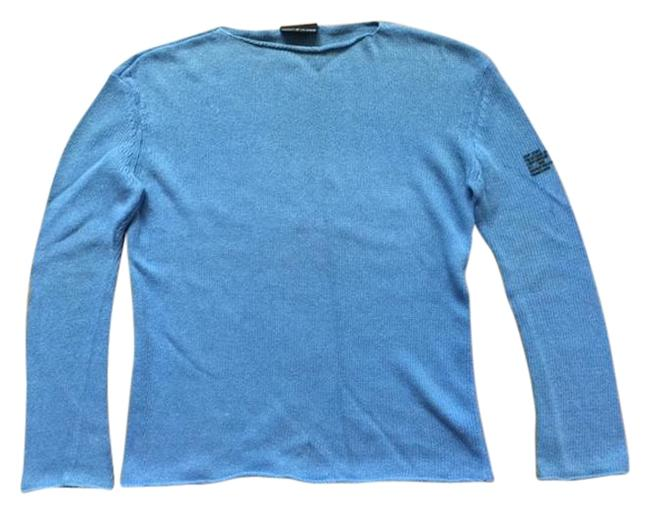 Preload https://img-static.tradesy.com/item/20331017/dkny-with-left-sleeve-logo-stamp-sky-blue-sweater-0-1-650-650.jpg