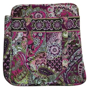 Vera Bradley Tote in Pink, purple, green, white
