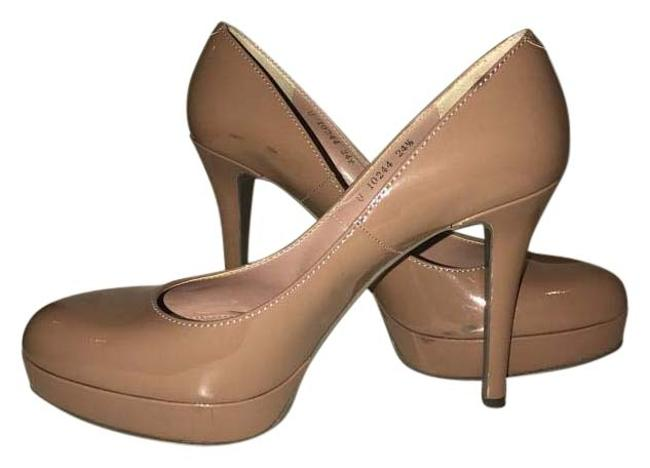 Nude Pumps Platforms Size US 7.5 Regular (M, B) Nude Pumps Platforms Size US 7.5 Regular (M, B) Image 1