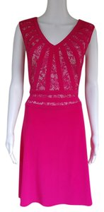Adrianna Papell Lace Slinky Dress