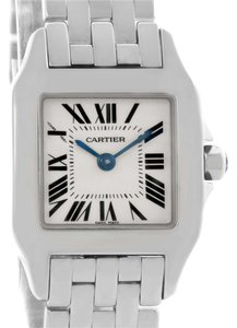 Cartier Cartier Santos Demoiselle Steel Silver Dial Small Watch W25064Z5