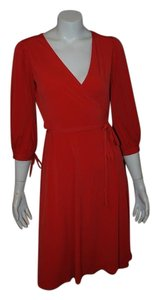 Laundry by Design short dress RED Holiday Dvf Wrap on Tradesy