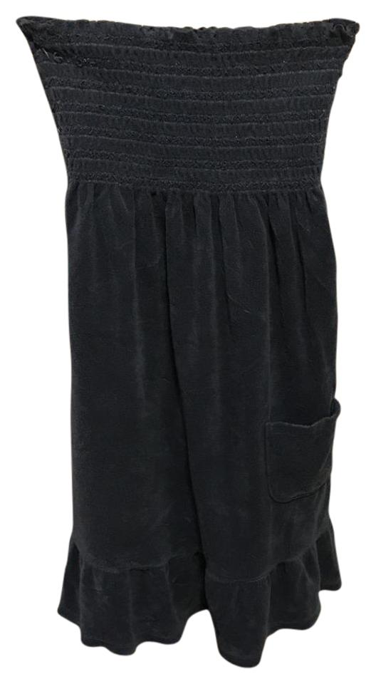 a15c87a099 Juicy Couture short dress Slate blue Terry Tubedress Strapless on Tradesy  Image 0 ...