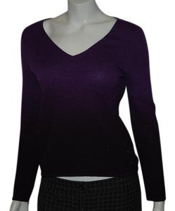Sutton Cashmere Ombre Holiday Sweater