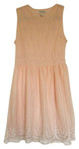 Forever 21 Embroidered Kawaii Adorable Cute Girly Dress