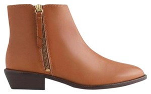 J.Crew Leather Brown Congac Boots