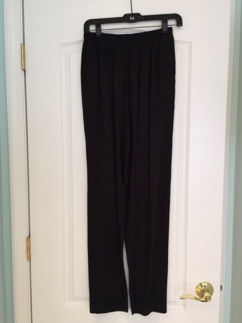 Other Black Pants Suit with Long Jacket (Size 4)