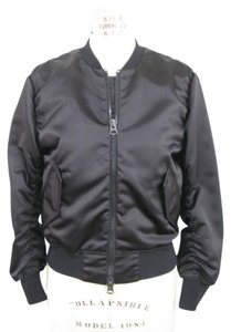 Acne Studios Bomber Double Zip Military Jacket