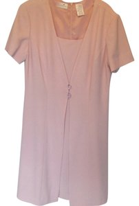 Liz Claiborne short dress salmon on Tradesy