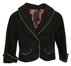 Sanctuary Clothing Fun Sailor Black with white piping Jacket