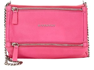 Givenchy Leather Pandora Mini Cross Body Bag