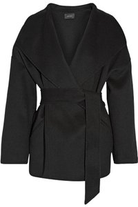 Isabel Marant Belted Wrap Wool Cashmere Pea Coat
