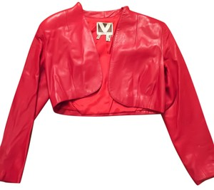 Valentino red Leather Jacket